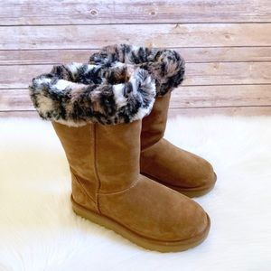 UGG Chestnut Classic Tall II Animal Boots